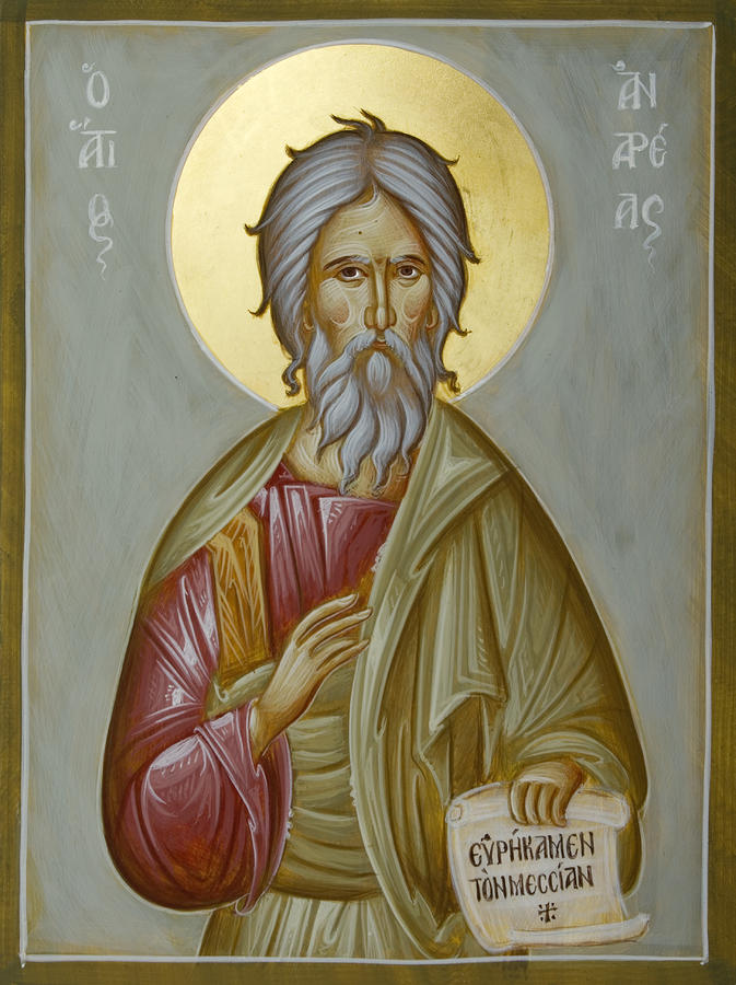 Our Patron – St. Andrew the First Called | St. Andrew Orthodox Church
